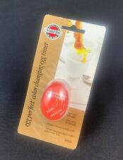 Norpro New Egg Perfect Color Changing Boiled Egg Timer Kitchen Temp 2-Pack
