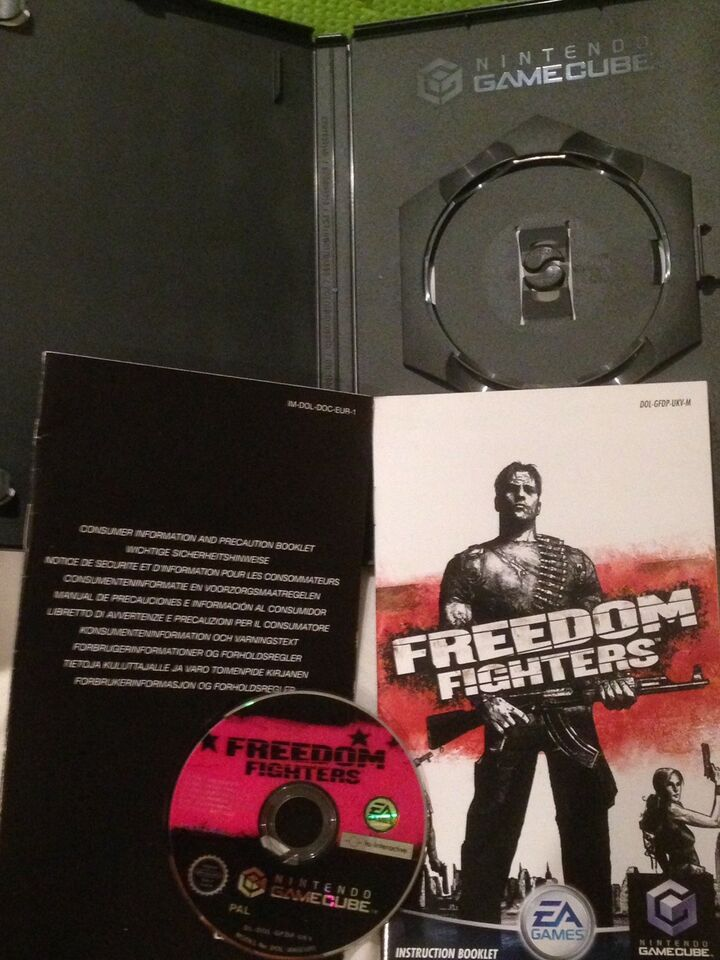 Freedom Fighters, Gamecube, action
