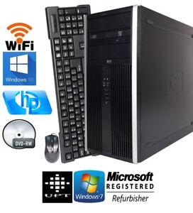 hp-8000-Elite-Tower-Windows-7-10-250GB-Intel-Core-2-3GHz-8GB-DVD-RW-WiFi-Ready