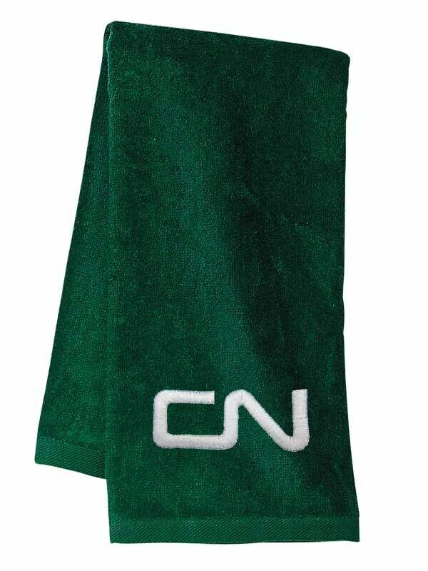Canadian National Noodle Logo Embroidered Hand Towel 100% cotton terry velour