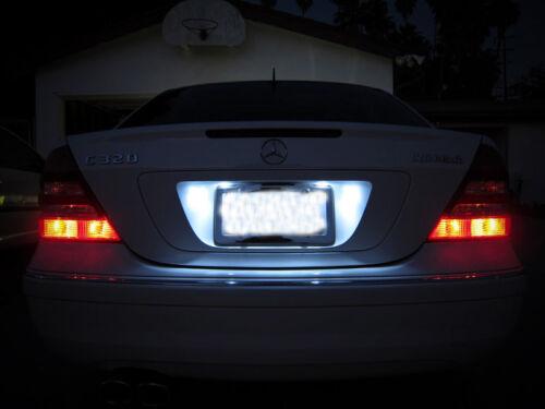 White LED License Plate Light For Jeep Grand Cherokee 1993-2013 2009 2010 2011