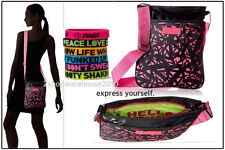 "Zumba Hello Gorgeous Bag + 6 Free ""Express Yourself"" Bracelets A0A00539"