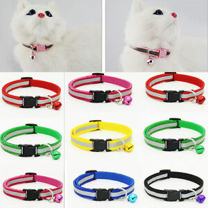 Dog-Cat-Pet-Bowknot-Cute-Bow-Tie-Bell-Adjustable-Puppy-Kitten-Necktie-Collar-IL