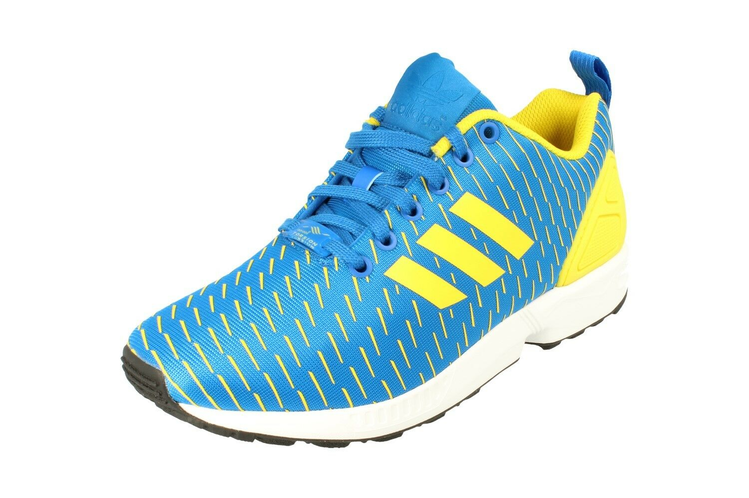 Adidas originals zx flux mens mens mens läuft trainer turnschuhe aq4531 4528ca