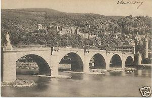 alte AK Heidelberg 1911, Das Schloss von jenseits der Brücke - Bad Köstritz, Deutschland - alte AK Heidelberg 1911, Das Schloss von jenseits der Brücke - Bad Köstritz, Deutschland