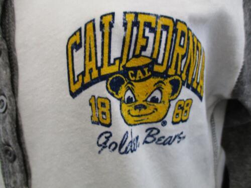New-Minor-Flaw NCAA Cal Golden Bears Adult Womens Sizes M-L Raglan Shirt