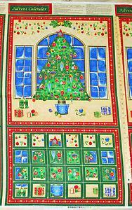 Christmas tree seasons greetings advent calendar christmas fabric image is loading christmas tree seasons greetings advent calendar christmas fabric m4hsunfo
