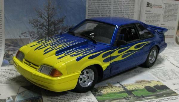 Ultra-GMP 1 18 1987 Ford Mustang Street HeatEXOTO