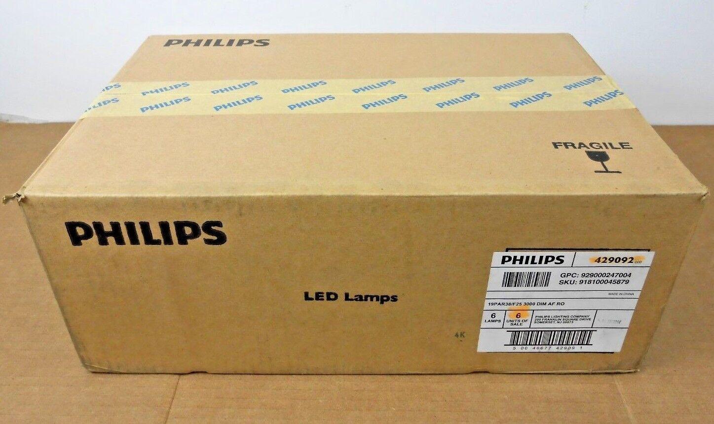 design unico 6 Nib Nib Nib Philips 429092 PAR38 Luce a Led 19WATT 3000K Regolabile 3 Valigie  negozio online outlet