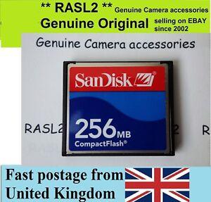Sandisk 256 Mb Compact Flash Card Cf Card 256mb Cf Memory Card Uk Ebay