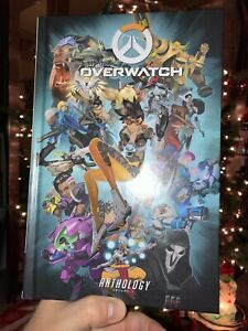 Overwatch-Anthology-Vol-1-Blizzard-Hardback-Arcade-Game-Comic-Book