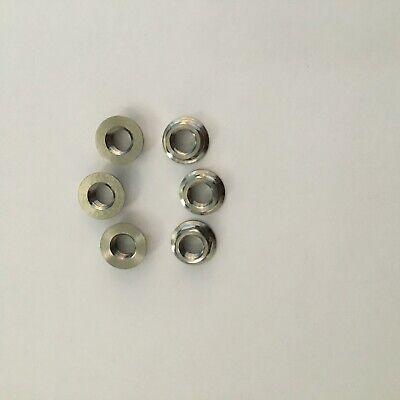 JXP FA073 Titanium Rear Shock Absorbers Bolts Set Fasteners Nuts Flange JP8