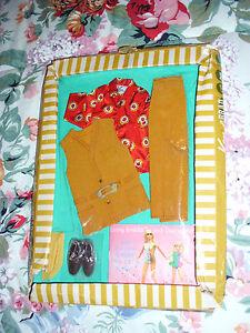 1971-1439-Suede-Scene-Ken-amp-Brad-Doll-Barbie-NRFP-Vintage-Mod-Mattel