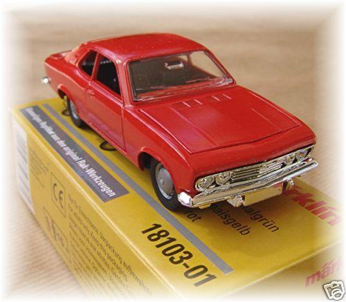 Märklin 18103-01 Opel Manta a 1:43 rojo #neu OVP #