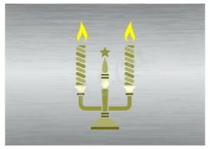 Christmas-Candles-stencil-3-A5-to-A0-14cm-to-1-2-meters-or-bigger-CMAS067
