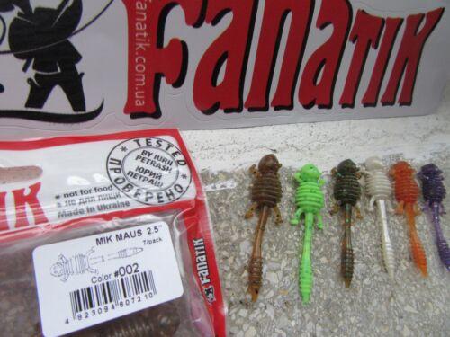 Baits, Lures & Flies Fishing Fanatik MIK MAUS 1 6,2,2 5 all