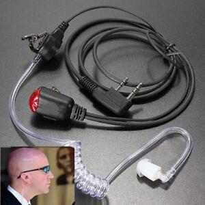 Black-headset-earpiece-interphone-security-radio-walkie-talkiYNFK
