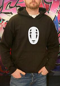 Spirited Away Tshirt Ghibli Kaonashi Mask No Face Anime HOODY JUMPER SWEATSHIRT