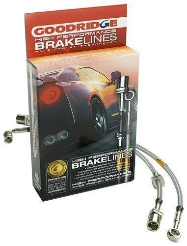 Goodridge Stainless Steel Brake Lines Kit for 04-13 Mazda 3 Mazdaspeed3