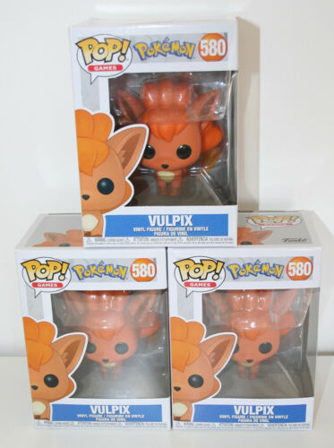 Vinyl Figure NEW Funko Pop Pokemon VULPIX #580 Pop BOX NOT MINT