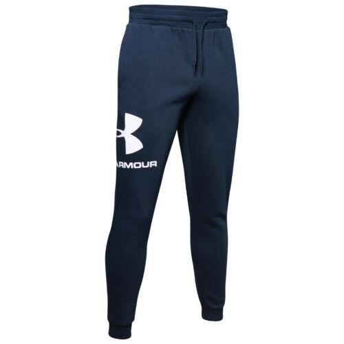 Under Armour coldgear rival Fleece Sport style logotipo jogger entrenamiento pantalones 1345627