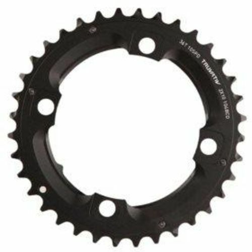 SRAM//Truvativ X0 and X9 38T 104mm BCD 10-Speed GXP Chainring with Over