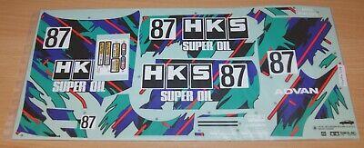 NIP 9494208//19494208//9805495 Decals Gr.A Tamiya 58140 HKS Nissan Skyline GT-R