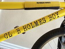 CLUB HOLMES BOY HOMEBOY BMX sticker S&M HOME vinyl Bikes Bicycles Black 2 frame