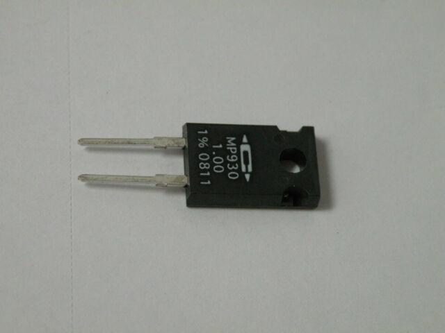75 OHM .... CADDOCK POWER FILM RESISTOR MP930-75.0-1/% QTY 5