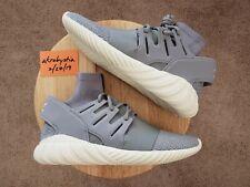 c9bd1e7af DS Adidas Tubular Doom PK Primeknit Grey Gray White 3M S74920 Men s Size 11
