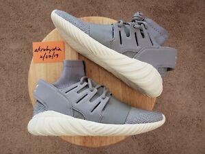 8a69161495ae DS Adidas Tubular Doom PK Primeknit Grey Gray White 3M S74920 Men s ...
