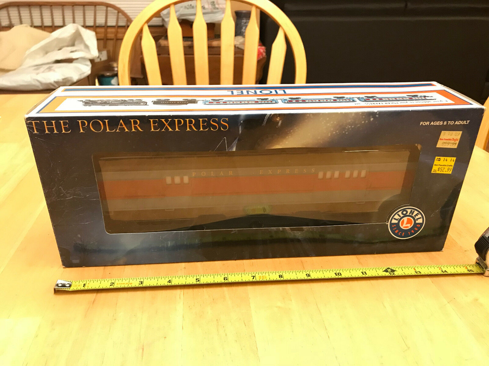Lionel Train lighted Passenger auto 6-25135 The Polar Express Express Express borsagage auto LN NIP deaff0