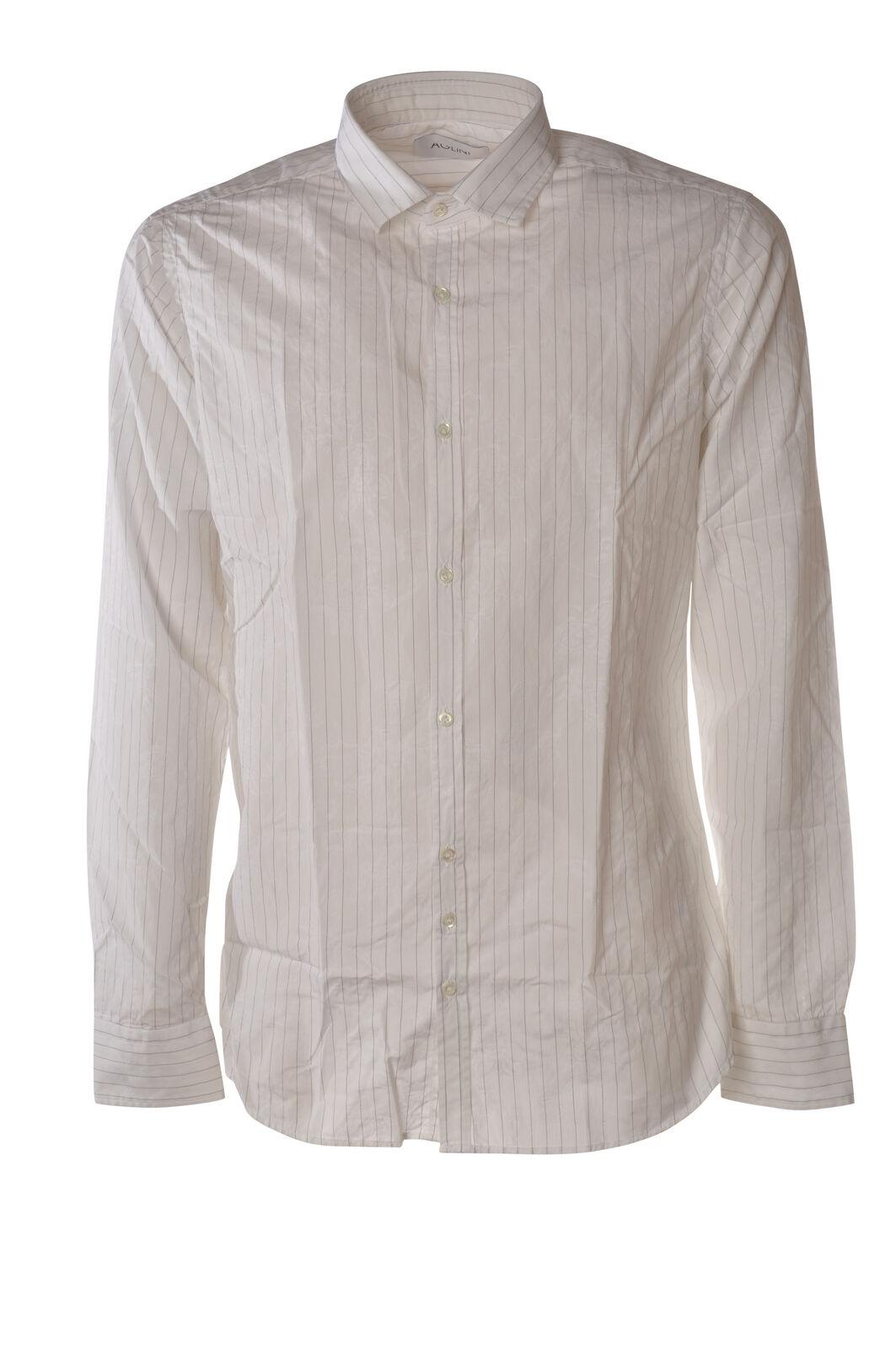 Aglini - Camicie-Camicia - Uomo - Bianco - 5751125N184104
