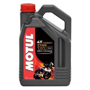 Bidon-de-aceite-moto-scooter-dos-ruedas-Motul-7100-10W50-motor-4T-en-4L-Nuevo
