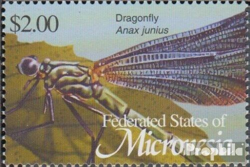 Mikronesien 1386 complete.issue. unmounted mint never hinged 2002 Insects an