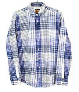 HUGO-BOSS-Men-Shirt-DZ32-CliffE-Orange-Label-Casual-Size-M