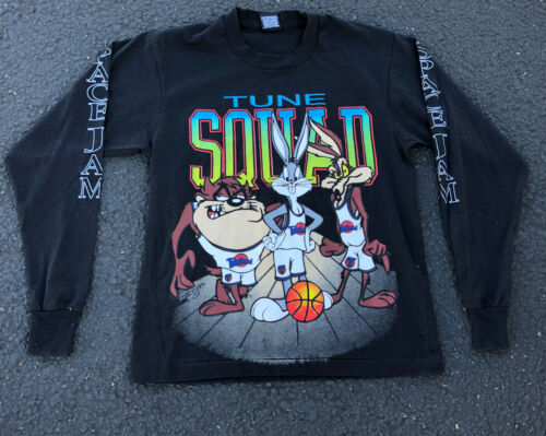 Space Jam ALL OVER PRINT Tune Squad  L/Sleeve Shir