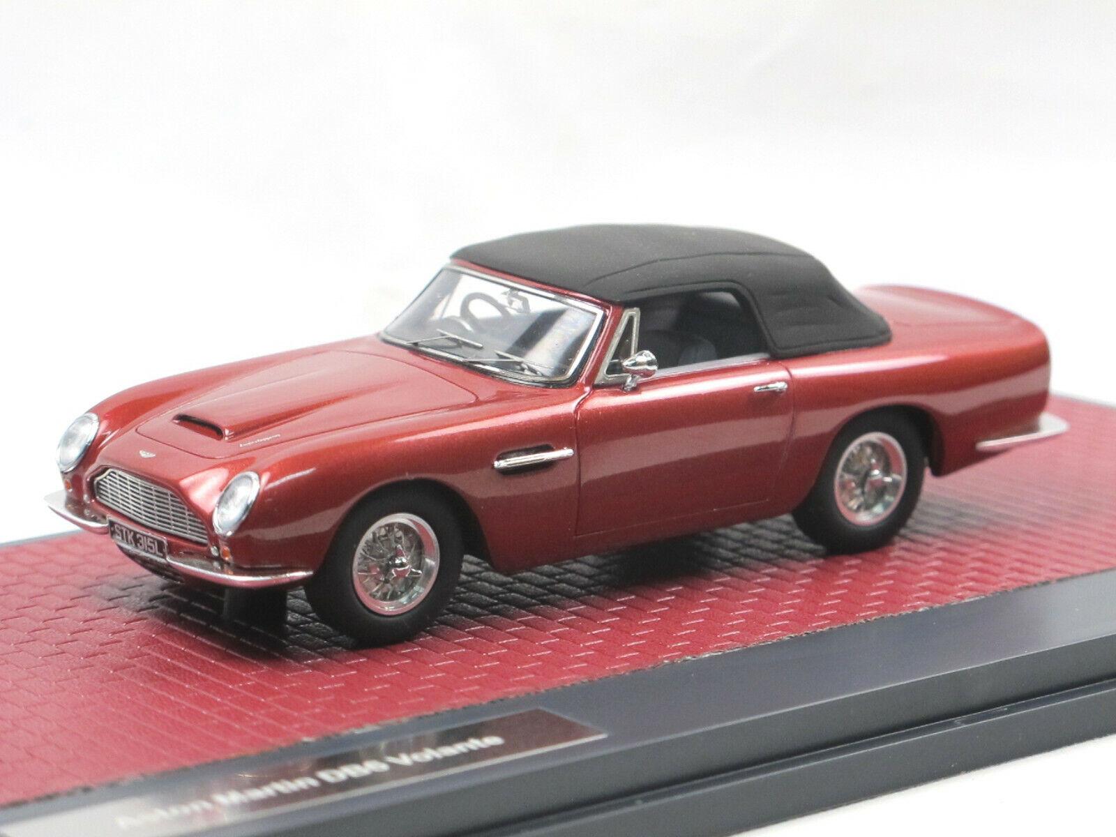 MATRIX SCALE MODELS 1968 Aston Martin db6 volante  Top Up rouge Metallic 1 43  magasins d'usine