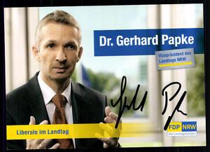 Suche Nach FlüGen Gerhard Papke Autogrammkarte Original Signiert ## Bc 39541 Autogramme & Autographen