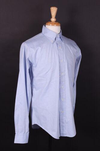VTG 80S BILL BLASS COTTON BLEND OXFORD DRESS SHIRT DS NWOTS USA MENS MEDIUM