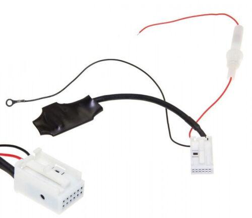 BT Bluetooth Adapter MP3 AUX #5117 12-Pin für VW Radio Naviagtion MFD 2 und RNS2