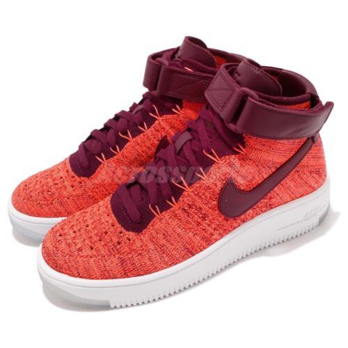 de Fk Mujer 1 Mid Flyknit selección deporte Zapatillas Wmns Force Nike Zapatos Air Af1 nwvW8qB1Y