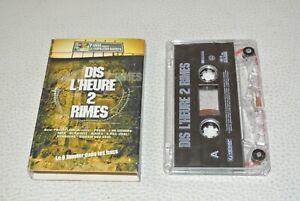 tape-K7-Rap-Francais-cassette-promotionnelle-DIS-L-039-HEURE-2-RIMES-lino-diams