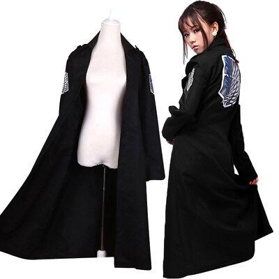 Attack on Titan Jacket Cloak Adult Halloween Cosplay Costume Hallween Unsiex