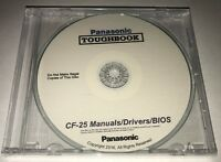 Panasonic Toughbook Cf-25 Manuals / Drivers / Bios 1 Rated Cd Best