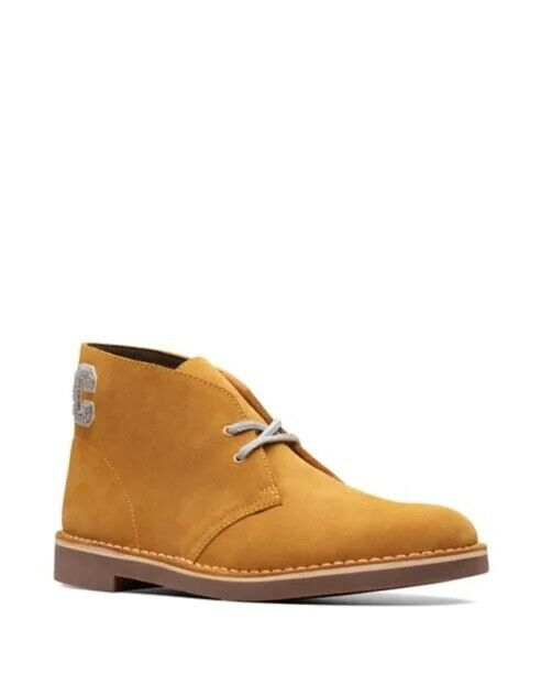 New Clarks Bushacre 2 Suede Chukka Desert Boots US8-10 ankle chelsea work shoes