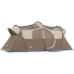 Coleman Weathermaster 10 Person Dome Tent Ebay