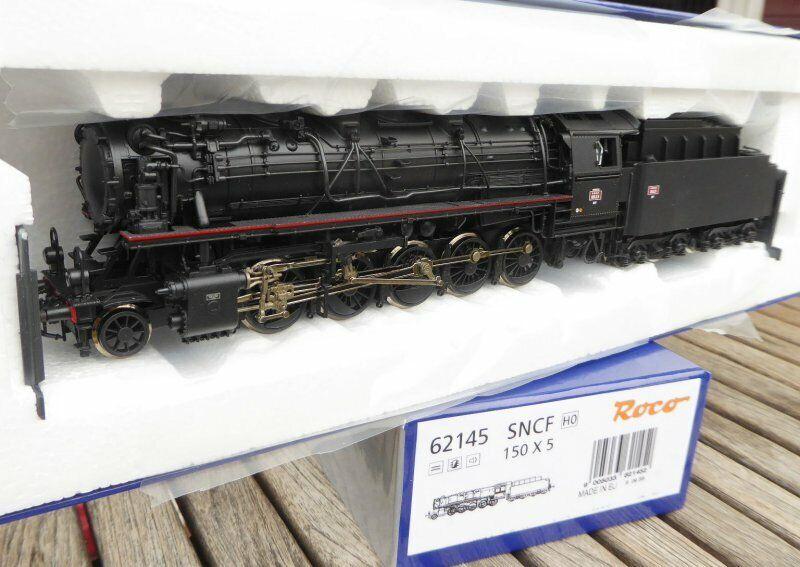 Roco 62145 Steam Locomotive 150 X EX BR 44 SNCF Ep. 3 Henning Sound, LED Light