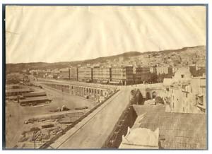 Algerie-Alger-Vue-vers-le-Boulevard-de-la-Republique-Vintage-album