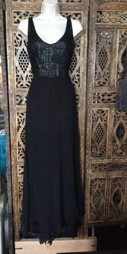 nero donna Gattinoni maniche lunga con senza esclusivi Pantaloni tunica taglia pizzo e 42 WzU5qfwc7